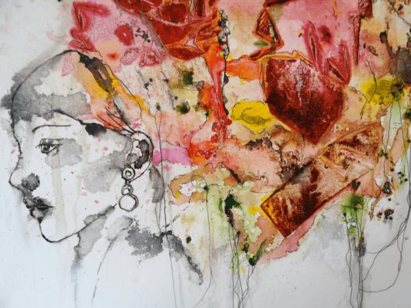 Brainwave Painting Protrait Marjan van Holthe